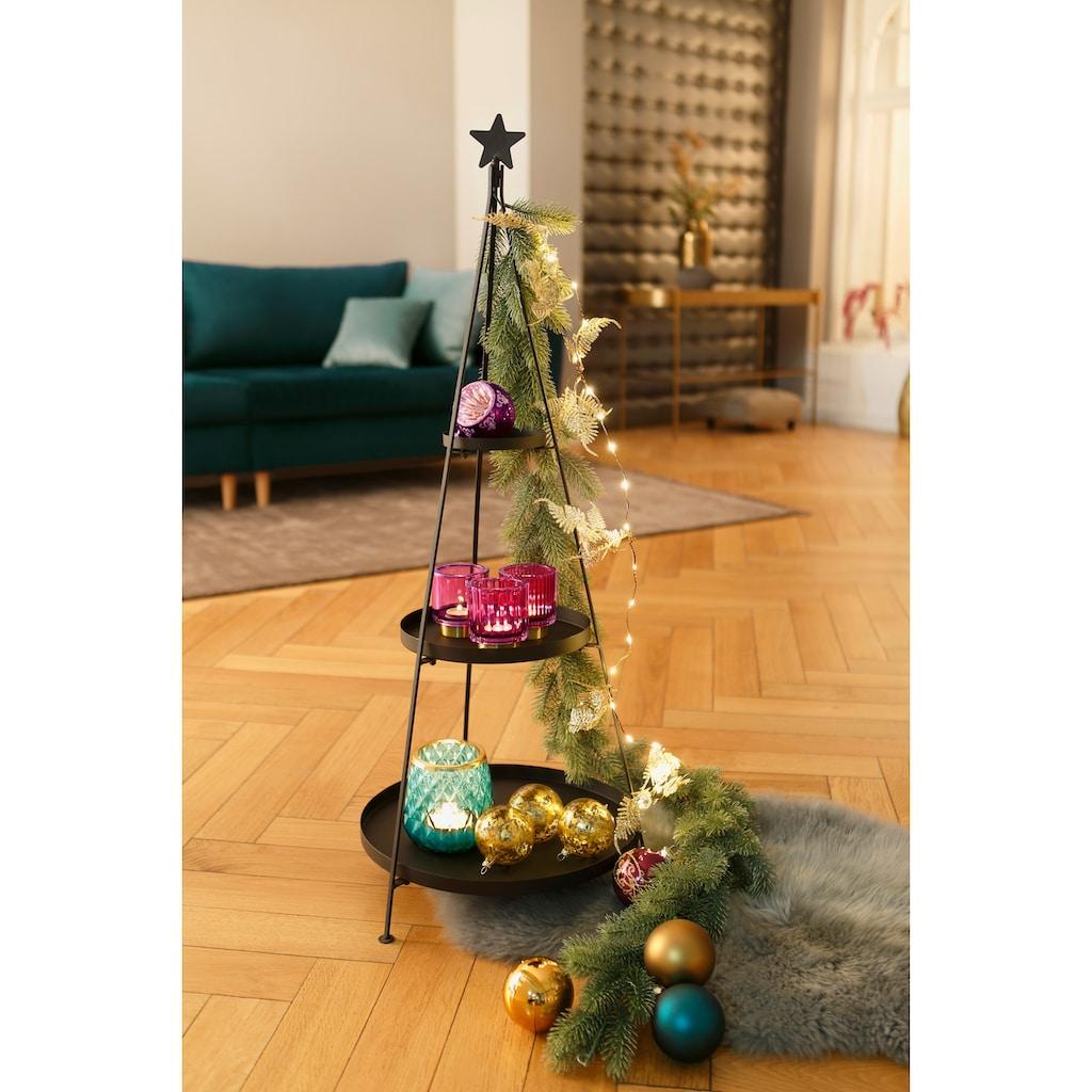 CHRISTMAS GOODS by Inge LED-Lichterkette »Blätter«, Länge ca. 120 cm