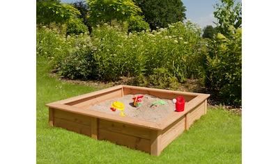 Kiehn - Holz Sandkasten kaufen
