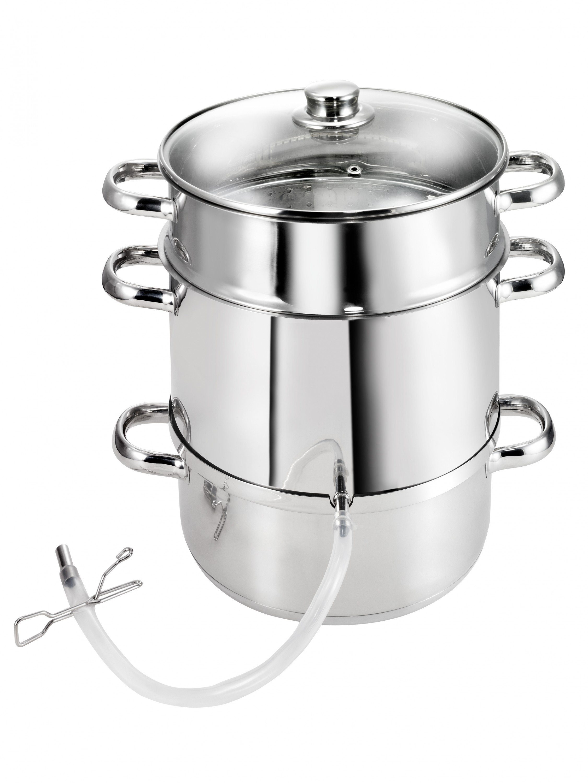 Kopf Entsafter aus Edelstahl Indukiton Vital   Küche und Esszimmer > Küchengeräte > Entsafter   Edelstahl   Kopf