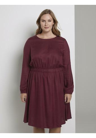 TOM TAILOR MY TRUE ME Blusenkleid »Kleid mit elastischer Taille« kaufen