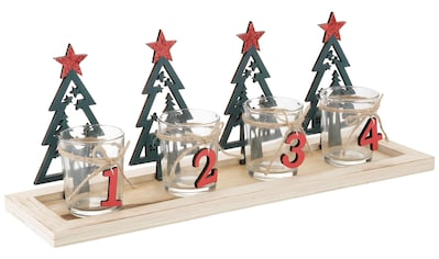Teelichthalter »Adventstablett« (Set, 5 Stück) kaufen