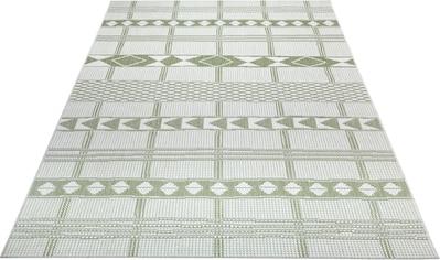 Leonique Teppich »Yani«, rechteckig, 3 mm Höhe, Wohnzimmer, In- und Outdoor geeignet kaufen