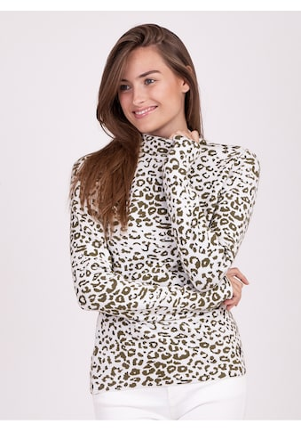 Key Largo Langarmshirt, mit modischem Animal-Print kaufen