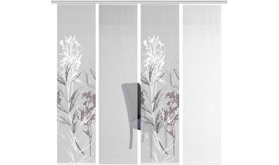Vision S Schiebegardine »4ER SET SEMORA«, HxB: 260x60, Schiebevorhang 4er Set... kaufen