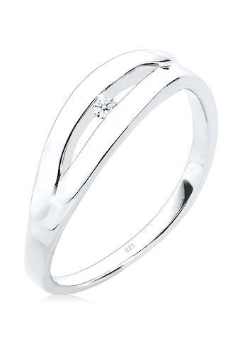 Diamore Verlobungsring »Klassisch Verlobung Diamant 0.03 ct. 925 Silber« kaufen