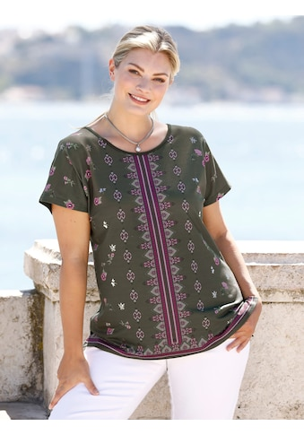 m. collection T-Shirt, mit platziertem Druckdesign vorne kaufen