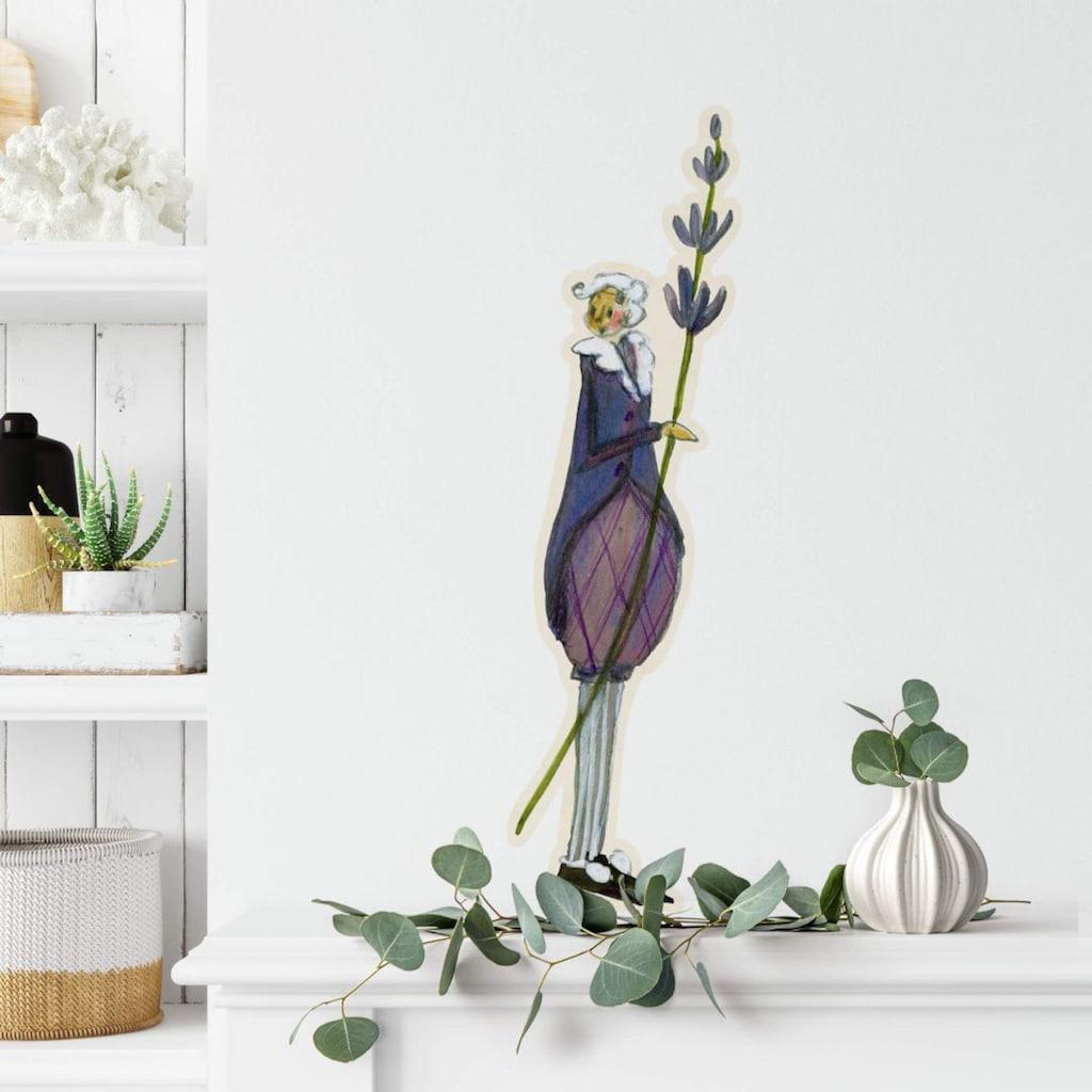 Wall-Art Wandtattoo »Blumen Monat September Fee«