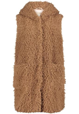 Amber & June Fellimitatweste, aus kuscheligem Fake-Fur kaufen