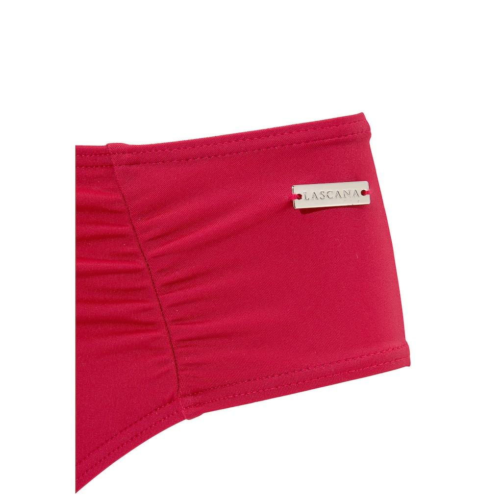 LASCANA Bügel-Bikini, mit Pailletten-Verzierung