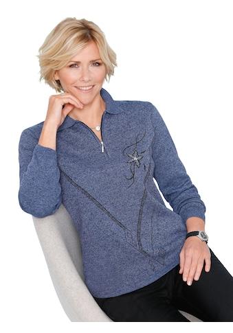 Classic Pullover mit kontrastfarbenem Strickmuster kaufen