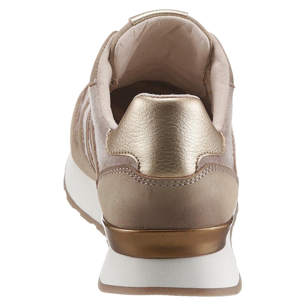 bugatti Keilsneaker »SAFIA«, mit Kontrast-Besätzen