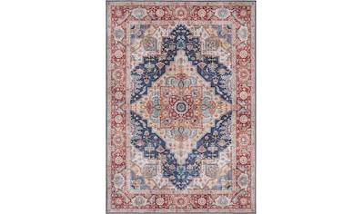 NOURISTAN Teppich »Sylla«, rechteckig, 5 mm Höhe, Vintage Design, Orient-Optik, Wohnzimmer kaufen