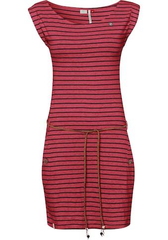 Ragwear Jerseykleid »TAG STRIPES O«, (2 tlg., mit Bindegürtel), im Streifen-Ringel-Design kaufen