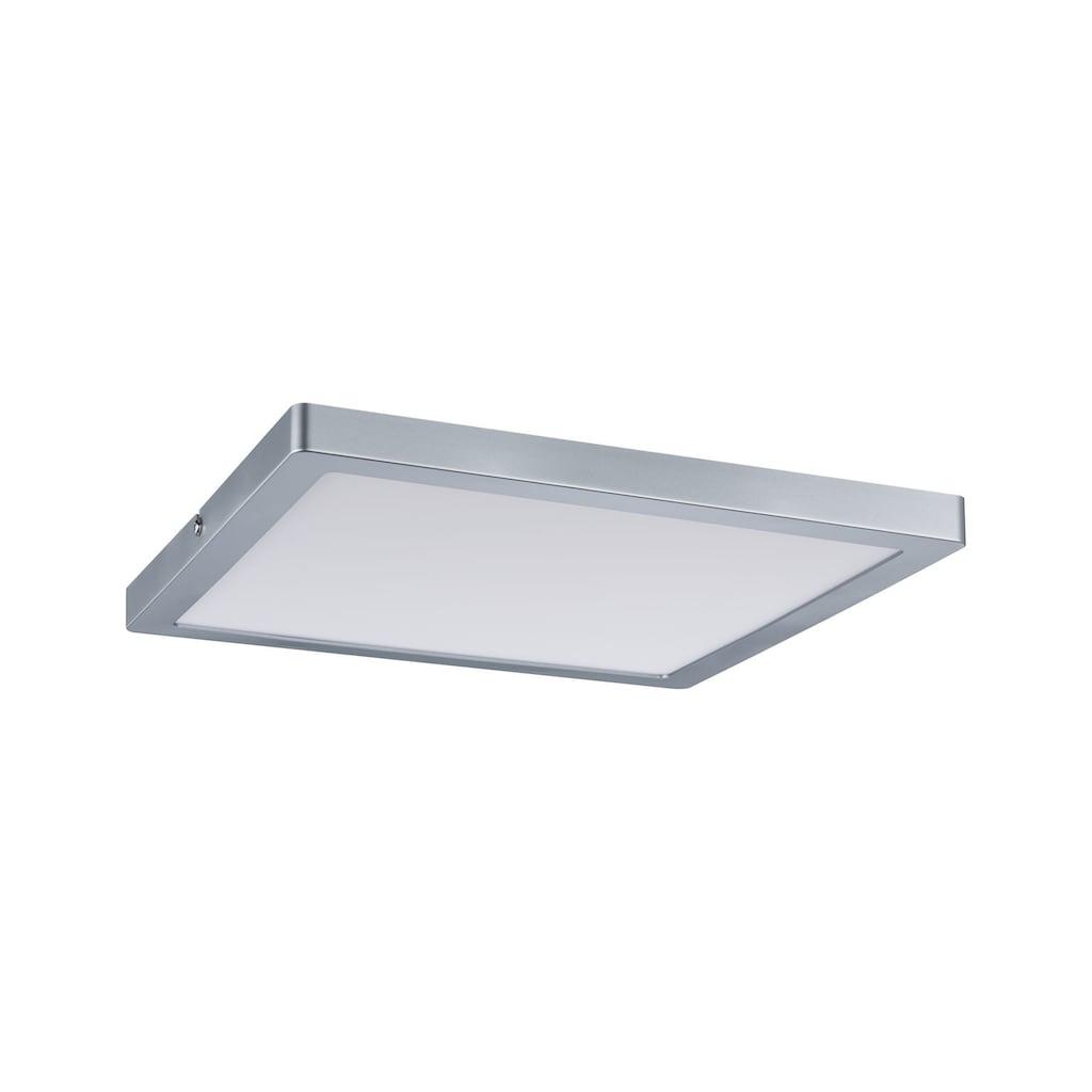 Paulmann LED Panel »Atria eckig 20W Chrom matt für Wand- und Deckenmontage«, 1 St., Neutralweiß
