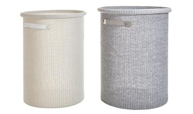 Wäschesammler Set in Strick - Optik kaufen