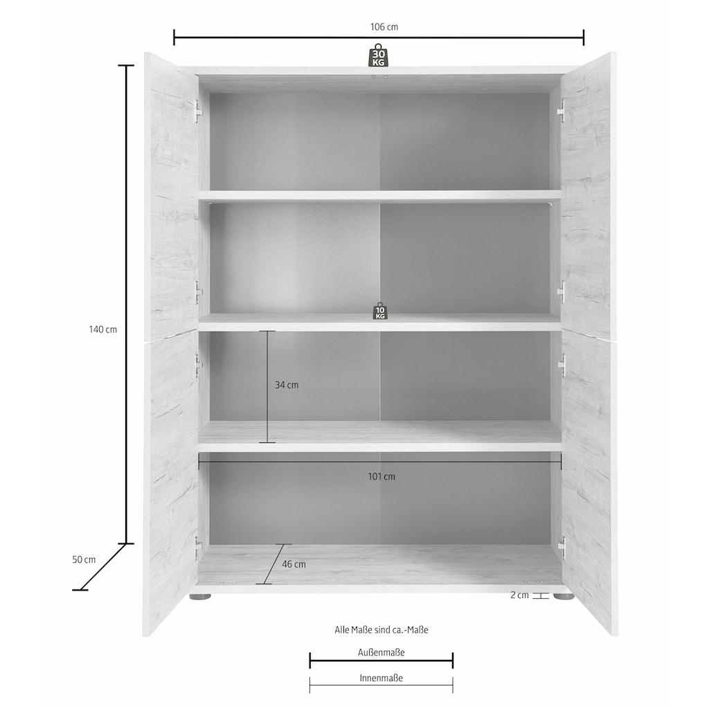 LC Highboard »Palma«, Breite 106 cm