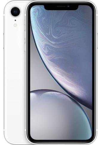 "Apple Smartphone »iPhone XR 64GB«, (15,49 cm/6,1 "", 64 GB, 12 MP Kamera), ohne... kaufen"