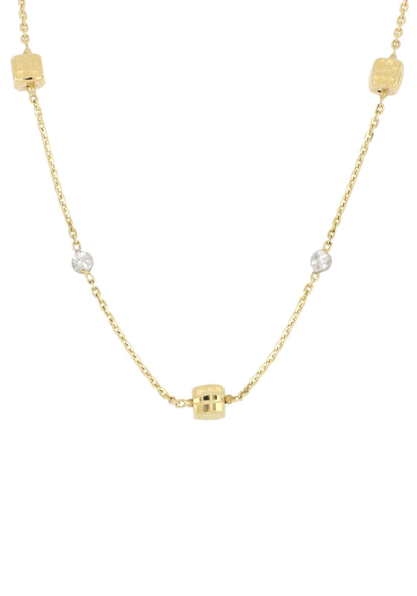 Firetti Goldkette glanz spiegeldiamantiert sterndiamantiert | Schmuck > Halsketten > Goldketten | Firetti
