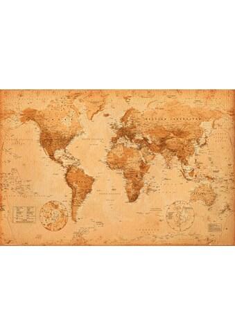 Reinders! Deco-Panel »Weltkarte antik«, 90/60 cm kaufen