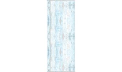 MYSPOTTI Duschrückwand »fresh F1 Wood Light Blue«, 100 x 255 cm kaufen