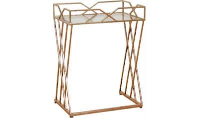 Home affaire Beistelltisch, mit hochwertiger Spiegelglasplatte kaufen