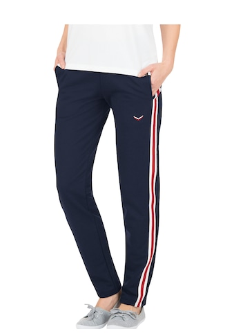 Trigema Jogginghose mit kontrastfarbigen Streifen kaufen