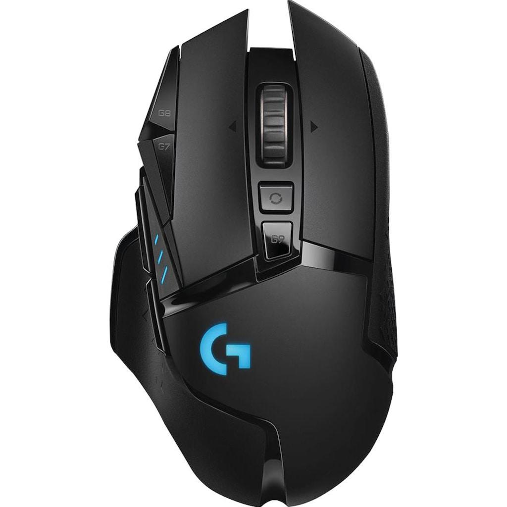 Logitech G Gaming-Maus »G502 LIGHTSPEED Wireless EER2«, Funk