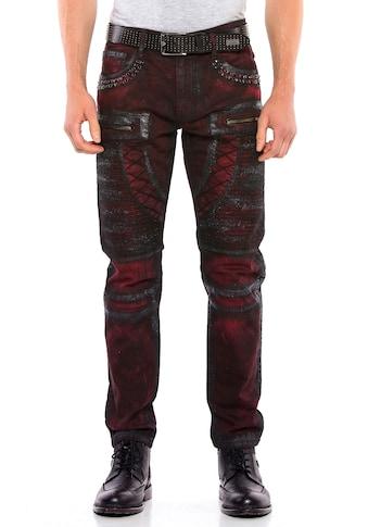 Cipo & Baxx Bequeme Jeans, im Regular Fit-Schnitt kaufen