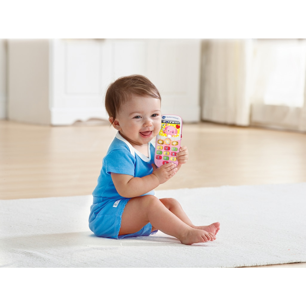 "Vtech® Spieltelefon ""VTech Baby Tierchen Lernhandy, pink"""