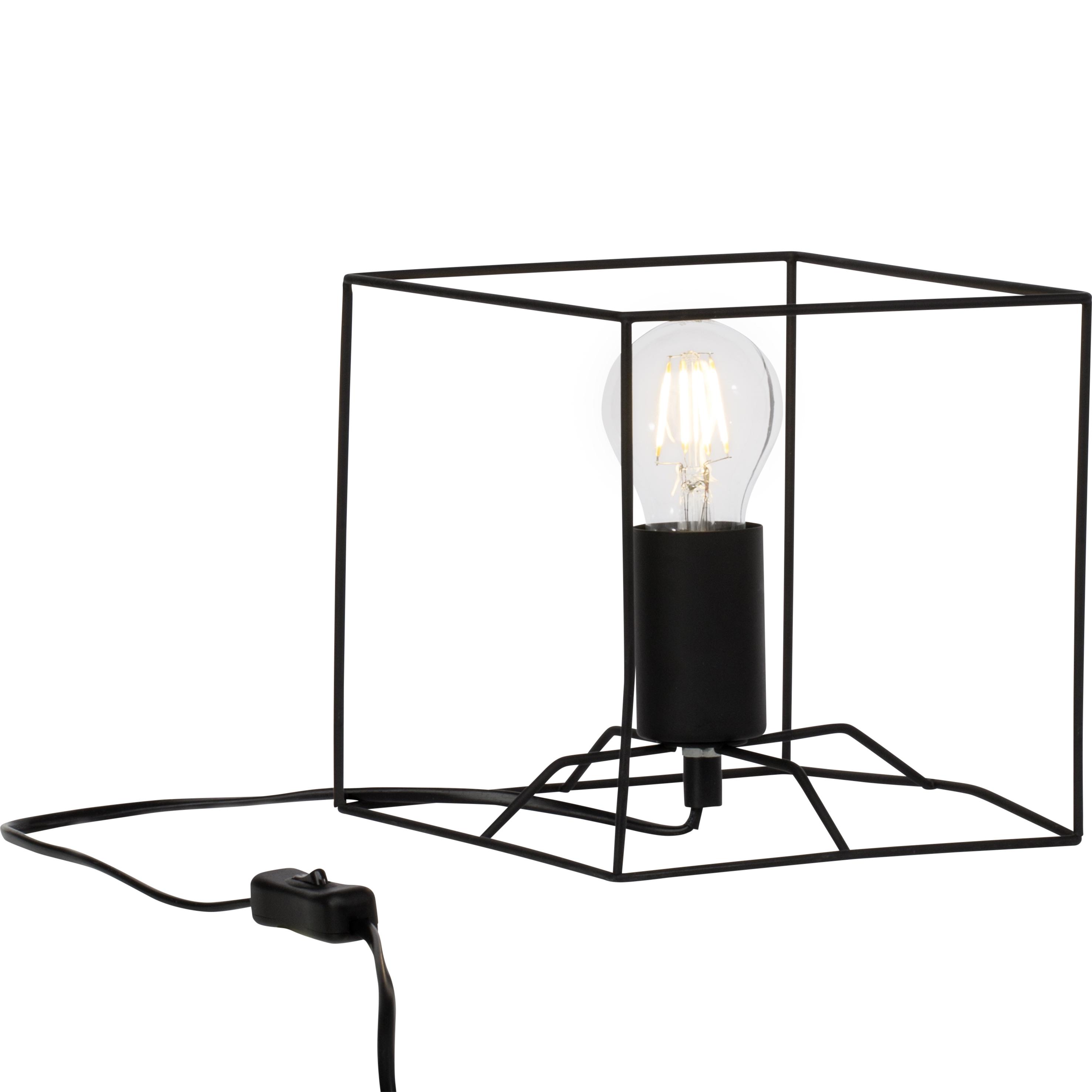 Brilliant Leuchten Vidia Tischleuchte schwarz