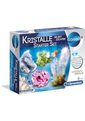 "Clementoni® Experimentierkasten ""Galileo  -  Kristalle selbst züchten, Starter - Set"" kaufen"