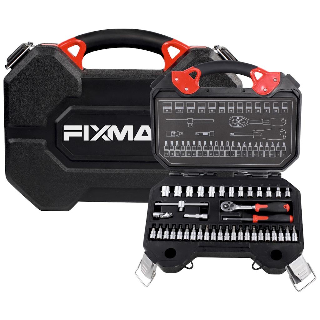 FIXMAN Steckschlüsselsatz 40-teilig