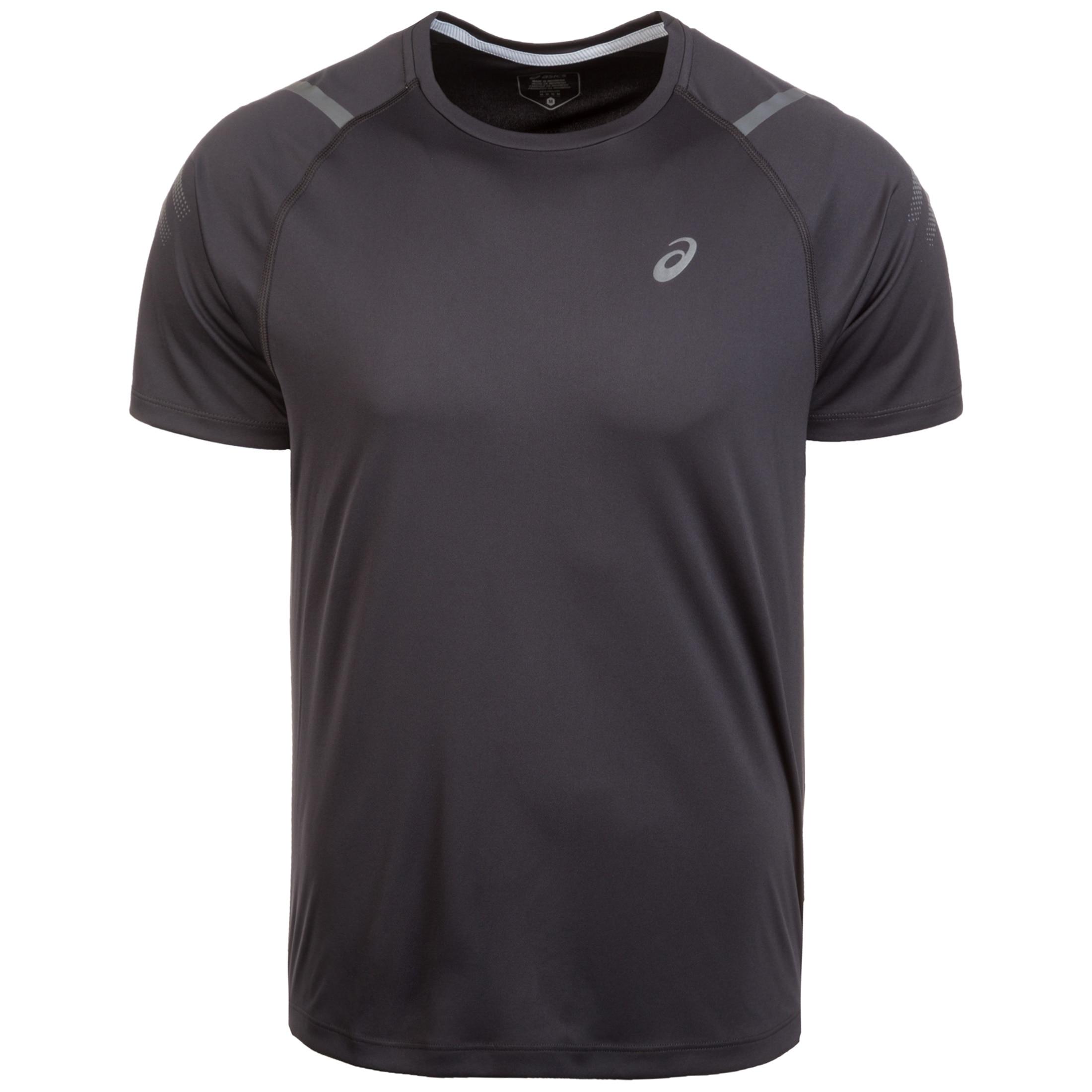 Asics Laufshirt Icon | Sportbekleidung > Sportshirts > Laufshirts | Schwarz | Asics