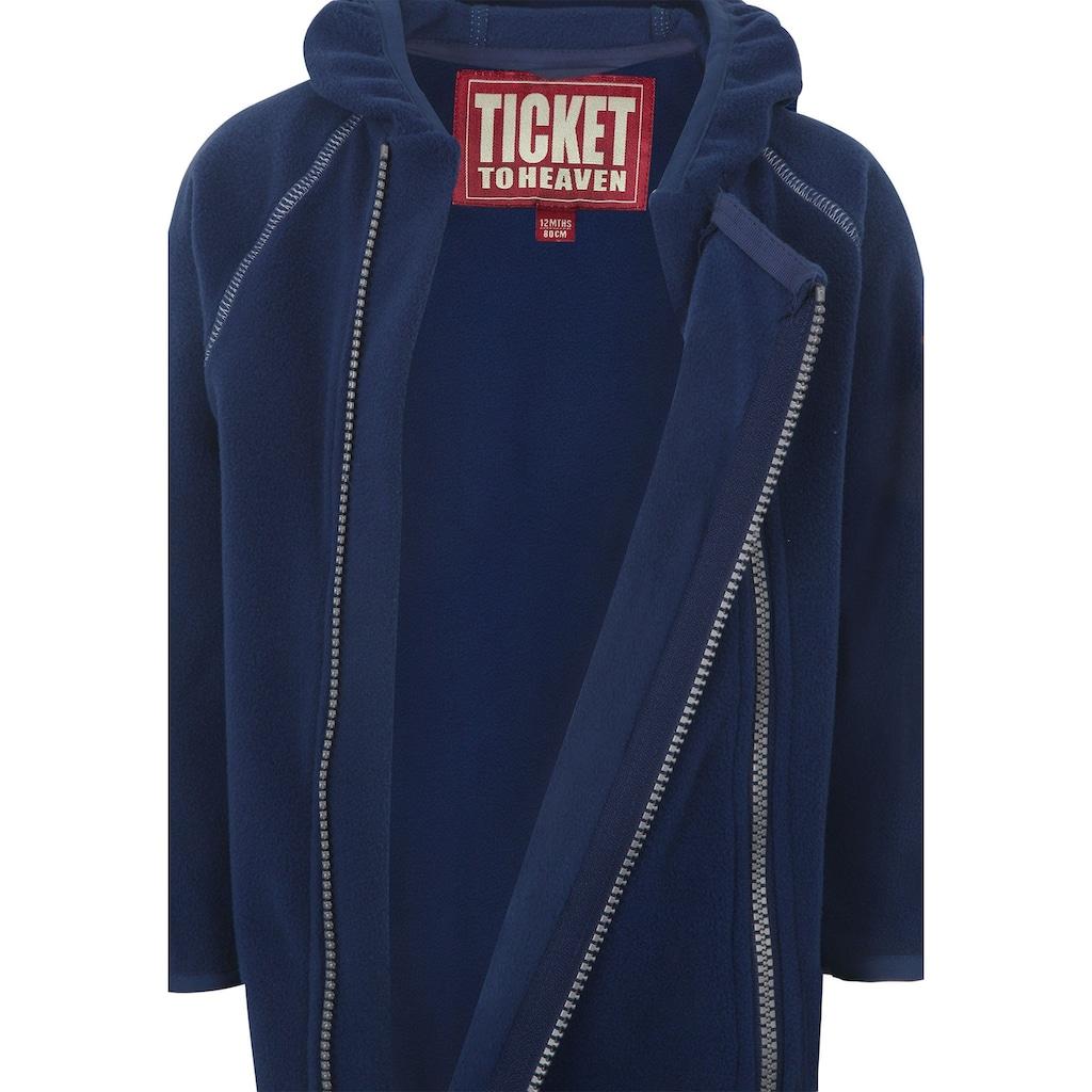 Ticket to Heaven Overall Fleece Royce