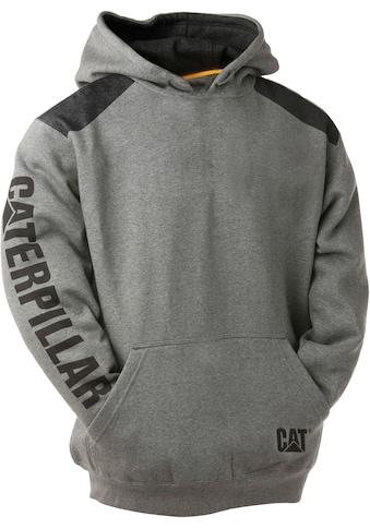 CATERPILLAR Pullover »LOGO PANEL«, Grau, 3 - teilige Kapuze kaufen