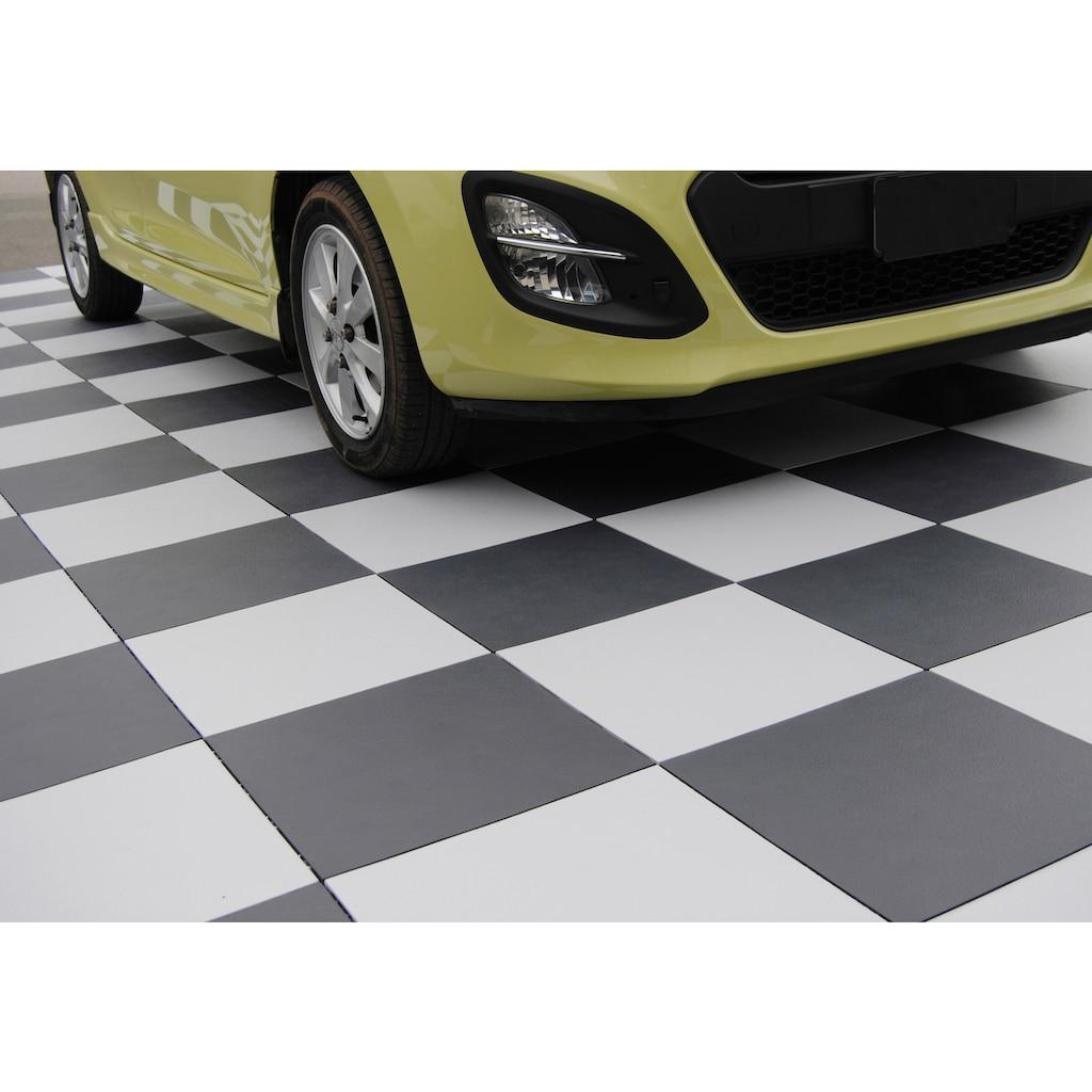 Bergo Flooring Terrassenplatten »Elite weiß«, Klickfliesen 5 m²
