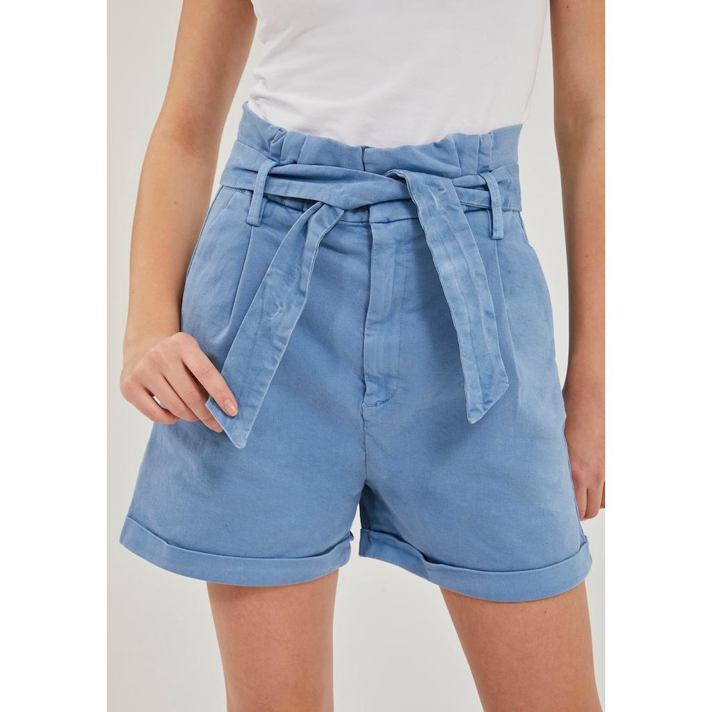 LTB Shorts »DORLA«, High Waist zum Binden