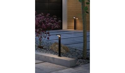 Paulmann LED Pollerleuchte »Solar Ryse Anthrazit mit Bewegungsmelder 3000K 100lm«, Warmweiß kaufen