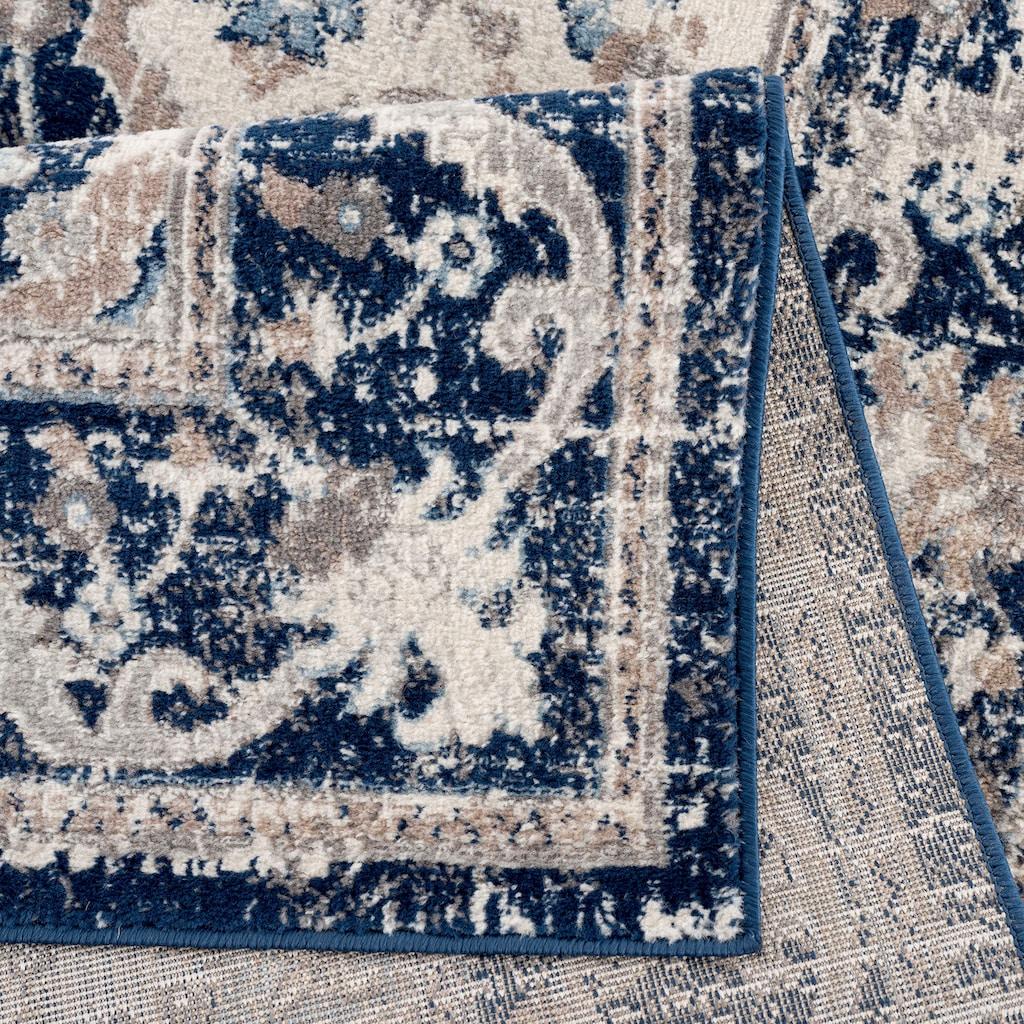 Sehrazat Orientteppich »Montana 3922«, rechteckig, 8 mm Höhe, Wohnzimmer, Kurzflorteppich