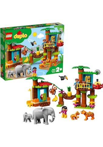 """LEGO® Konstruktionsspielsteine """"Baumhaus Dschungel (10906), LEGO® DUPLO®"""", Kunststoff, (73 - tlg.) kaufen"""