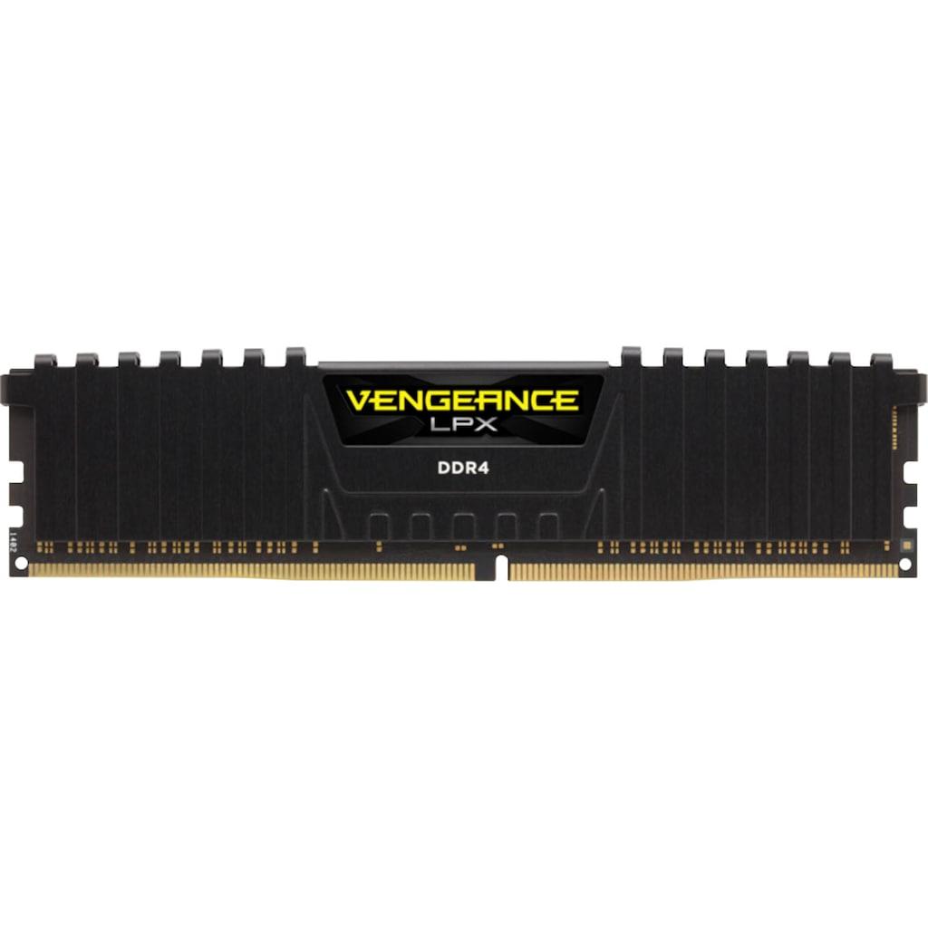 Corsair PC-Arbeitsspeicher »VENGEANCE® LPX Speicherkit 16 GB (2 x 8 GB) DDR4 DRAM 3600MHz C20«