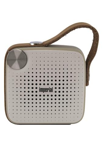 IMPERIAL by TELESTAR Bluetooth-Lautsprecher »BAS 4«, Freisprechfunktion kaufen