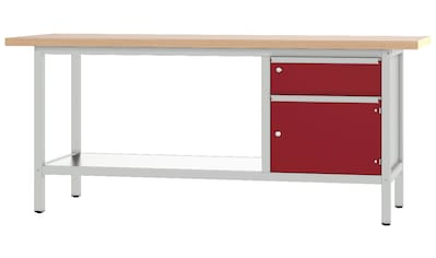 PADOR Werkbank »31 S 002/20 R«, Höhe: 85,5 cm kaufen