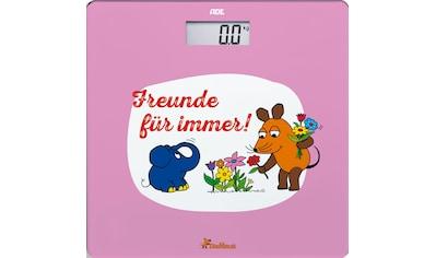 """ADE Personenwaage »BE1803 Die Maus«, """"Freunde für immer - Garten"""" kaufen"""