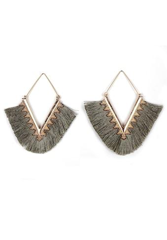 J.Jayz Paar Ohrhänger »im geometrischen Rauten - Design« kaufen