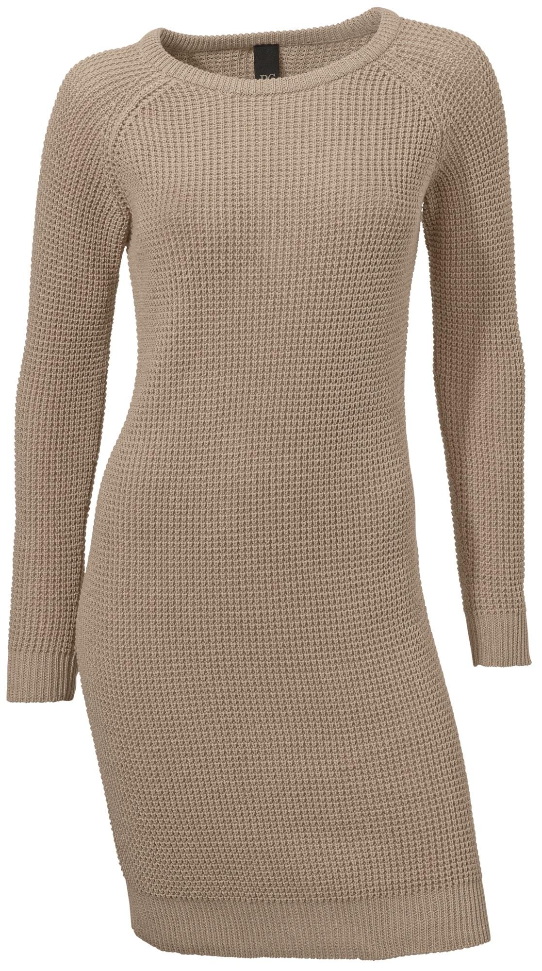 Strickkleid in Waffelstrick | Bekleidung > Kleider > Strickkleider | Linea Tesini By Heine
