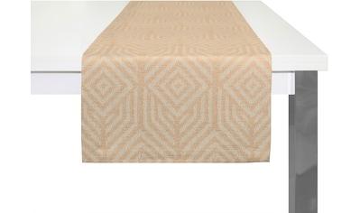 Adam Tischläufer »Easy Diamond«, GOTS zertifiziert, nachhaltig kaufen