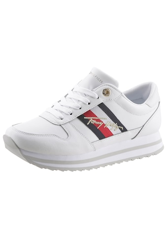 TOMMY HILFIGER Plateausneaker »TH SIGNATURE RUNNER SNEAKER« kaufen
