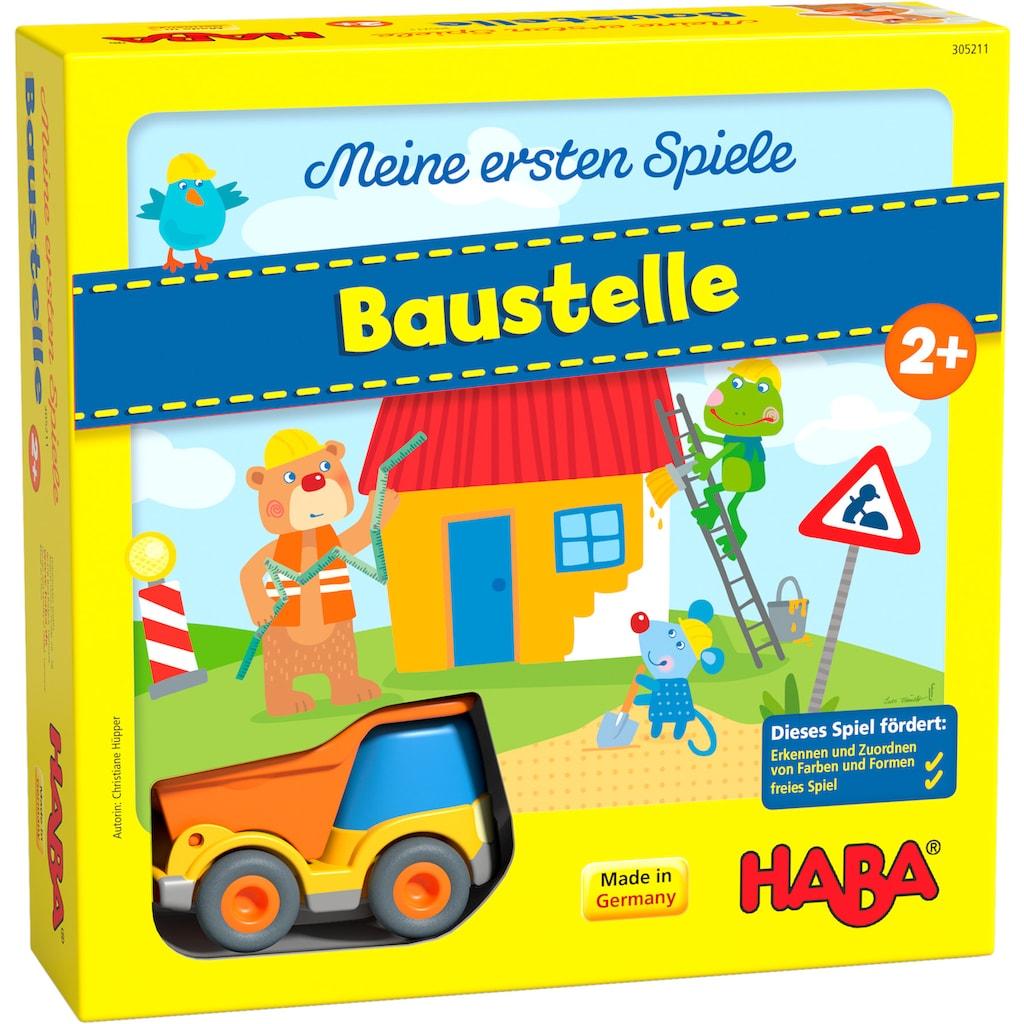 """Haba Spiel, """"Meine ersten Spiele - Baustelle"""""""
