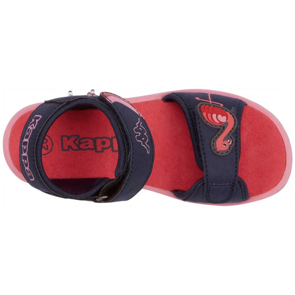 Kappa Sandale »FLINGO KIDS«, mit cooler Blinkfunktion<br />